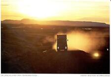 Iceland  -  Truck in der Abendsonne im Hochland des Nordostens  -  ca.1995