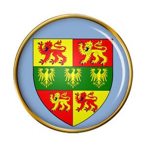 Caernarfonshire Carnarvonshire (Wales) Pin Badge