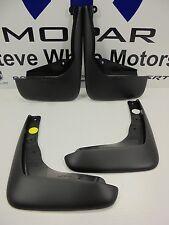 15-16 Chrysler 200 New Front /& Rear Deluxe Molded Splash Guards Black Mopar Oem