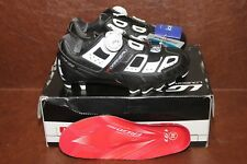 Mens Louis Garneau Carbon T-Flex LS-100 MTB Cycling Shoe Black/Wht 36 EU NIB
