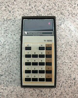 TEXAS INSTRUMENTS TI-1200 VINTAGE RED LED CALCULATOR - EXC WORKING