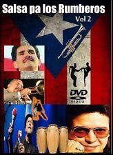 Salsa Pa Los Rumberos #2 70s 80s DVD Classica Frankie Ruiz Lavoe El Gran Combo