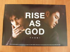 TVXQ - Rise As God [OFFICIAL] POSTER K-POP *NEW* DBSK