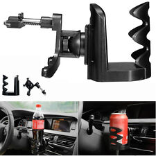 IN Car Van Drink Cup Holder Stand Universal Air Vent Mount Beverage Bottle UK