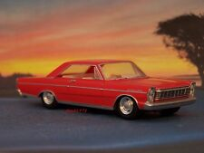 1965 65 FORD GALAXIE 500 COUPE COLLECTIBLE 1/64 SCALE DIECAST MODEL - DIORAMA