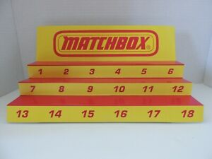 Matchbox  Display for Matchbox  cars and trucks