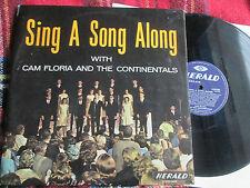 Sing A Song Along With Cam Floria & The Continentals LLR 551 UK Vinyl LP Album