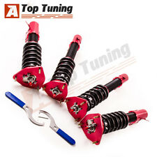 Full Set Adj. Damper Coilovers For Subaru Impreza 02-07 WRX GDB 04 STI Shocks