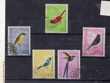 Venezuela Fauna Aves Valores del año 1962 (DT-407)