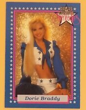 1992 ENOR # 3P DORIE BRADDY PROMO CARD DALLAS COWBOYS CHEERLEADERS