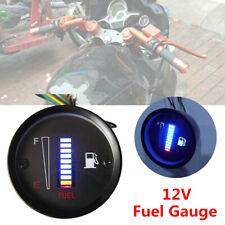 1X Universal 2 inch 52mm 10LED Fuel Level Meter Digital Gauge Car Motorcycle 12V