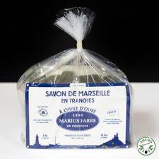 Savon de Marseille en tranches à l'huile d'olive - 1kg - Marius Fabre