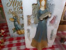 "Pretty Angel of Seasons 10"" figurine Table Top Christmas Decor"