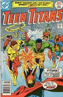 Teen Titans 47 1st Series DC 1977 FN VF Wonder Girl Kid Flash Robin Aqualad
