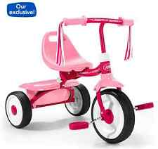 Radio Flyer Kids Toddler Pink Tricycle Trike Bike Toy Ride 3 Wheel Outdoor New