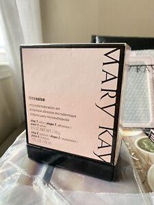 Mary Kay TIMEWISE MICRODERMABRASION  Set: Refine + Replenish NIB