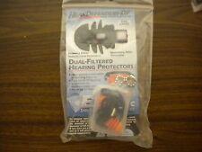 Hear Defender DF Noise Reduction Safety Ear Plugs Size L Black Orange FREE SHIP