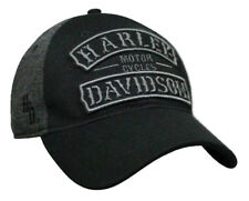 Harley-Davidson Men's Embroidered Vintage Rockers Baseball Cap, Black BCC25175