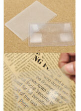 2 Pcs Pocket Card Magnifier Credit card Size for Reading Books , Experiments