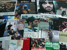 GLASSJAW - MAGAZINE CUTTINGS COLLECTION (REF E8)