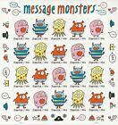 2021 MNH US #5636-5639 MESSAGE MONSTERS No Die Cuts (NDC Imperf) Pane of 20