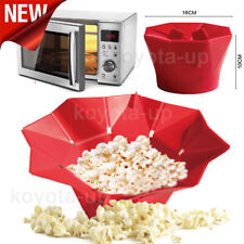 Microwave Silicone Magic Household Popcorn Maker Container Healthy Cooking Us On