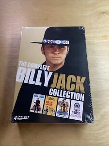 The Complete Billy Jack Collection DVD Box Set Tom Laughlin Sealed RARE Set!