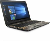 "HP 15.6"" Realtree Camo Laptop Intel Pentium 2.56GHz 1TB HDD DVD Drive Windows 10"