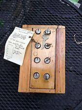 Multi Control-Key Safe Deposit Puzzle Box • Simply Unique!