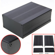 Aluminum Box Enclosure Case Circuit Board Project Electronic Black 150*105*55mm