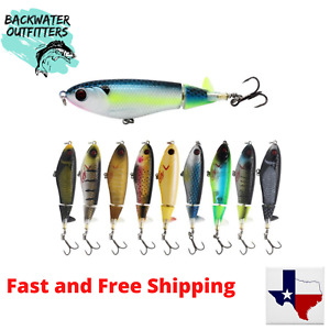 """Whopper Plopper Prop Minnow 105 Top Water Lure  (4 1/8"""" X 1/2 oz) !!See Video!!"""