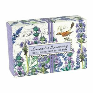 Michel Design Works Lavender Rosemary Shea Butter Soap Bar Eucalyptus Scent