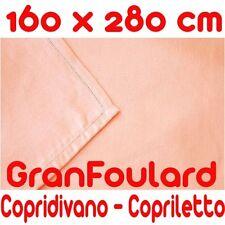 Mobilier De Tissu Housse Couvre-lit GranFoulard couvre tout Coton Rose 160x280