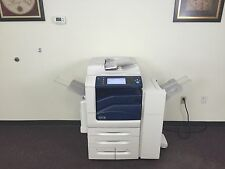 Xerox Workcentre 7835 Color Copier Machine Network Printer Scanner Fax Finisher