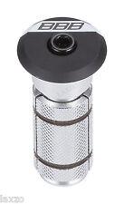 BBB BAP-03 PowerHead 1.1/8 Bicycle Bike Headset Compressor (Matt Black) 58g