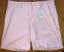 NWT Men's Peter Millar Salem Performance Shorts Palmer Pink Size: 40