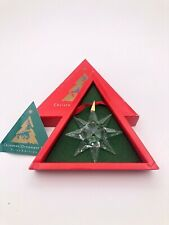Swarovski Christmas ornament 1991 Mib Rare!
