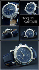 Othello Chronograph Mens Watch Ocean Blue JACQUES CANTANI Swiss G-10 Timepiece