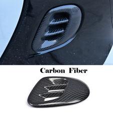 Car Air Vent Cover Trims Refit For Mercedes Benz Smart 2016-2017 Carbon Fiber