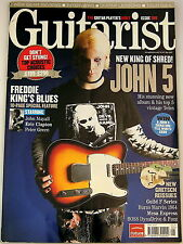 GUITARIST MAGAZINE May 2007 John 5 Gretsch Guild Burns Mesa BOSS Colorsound FUZZ