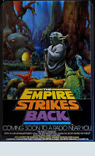 The Empire Strikes Back Pbs Radio Show Poster 1982 Episode V17� x 28� Npr Radio