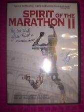 Spirit of the Marathon II DVD  AUTOGRAPHED BY MARATHON GODDESS Julie Weiss!!!!!!