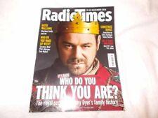 November Radiotimes Weekly Magazines