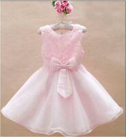 GIRLS PINK PRINCESS WEDDING BRIDESMAID/FLOWER GIRL PARTY TUTU. DRESS AGE 2-3