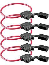 5x Sicherungshalter KFZ PKW Flachsicherung Sicherung Halter wasserdicht 1,5mm²