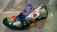 Irregular Choice Pipsqueak size 6 39 Toadstool Mouse Rainbow Mushroom shoes BNIB
