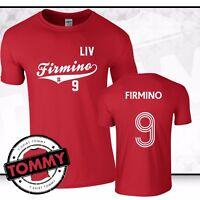 Firmino Liverpool FC T-Shirt, Firmino tshirt, liverpool tshirt #9