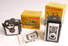 Kodak Duaflex II and Brownie Holiday - Both In Original Boxes