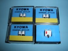 2 x Pairs of KYOWA Replacement Diamond Styli for the Stanton 500 Cartridge