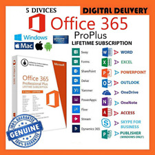 Microsoft Office 365 Pro Plus 2020 ✅ Account Lifetime 5 Devices for Wind and Mac